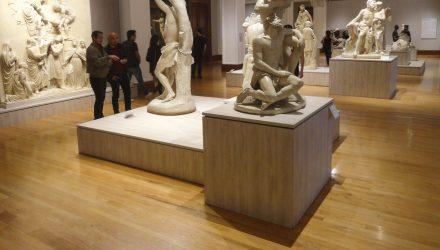 Imagen de una sala del Museo Nacional de Arte de México